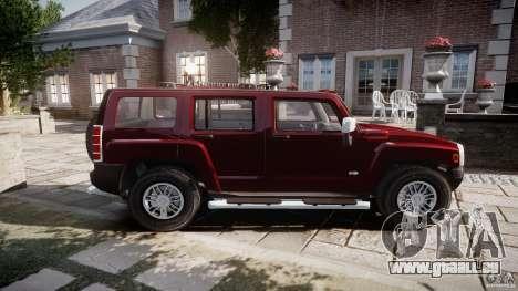 Hummer H3 für GTA 4 linke Ansicht