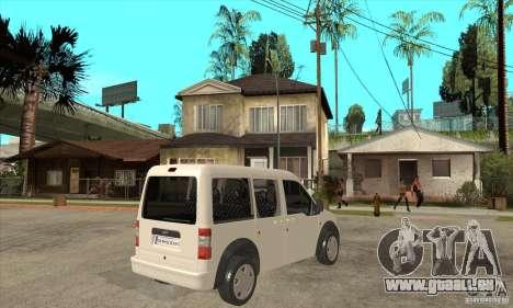 Ford Transit Connect 2007 für GTA San Andreas rechten Ansicht