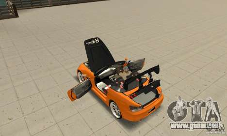 Honda Amuse R1 AP1 S2000 für GTA San Andreas Innenansicht