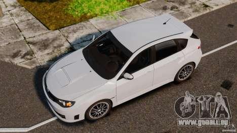 Subaru Impreza Cosworth STI CS400 2010 v1.2 pour GTA 4 est un droit