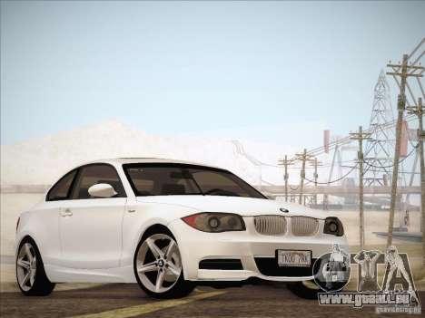 BMW 135i für GTA San Andreas linke Ansicht