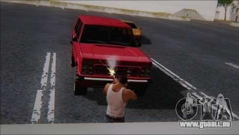 SCAR - H pour GTA San Andreas quatrième écran
