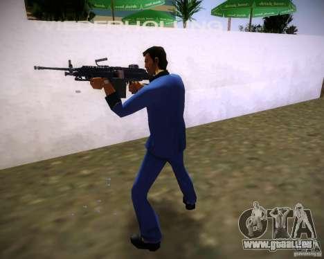 FN M249 für GTA Vice City dritte Screenshot