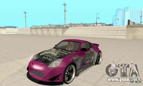 Nissan 350Z Tuning für GTA San Andreas