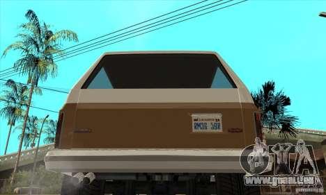 Ford Ranger pour GTA San Andreas vue de droite