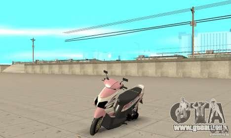 Honda Vario-Velg Racing für GTA San Andreas