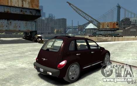 Chrysler PT Cruiser pour GTA 4 est un droit