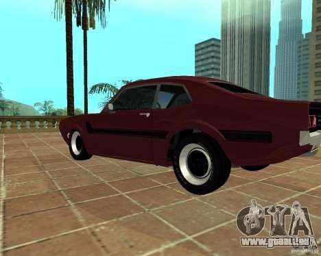 Ford Maverick GT 1977 pour GTA San Andreas laissé vue