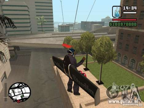 Jetwing Mod pour GTA San Andreas