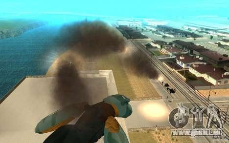 Metal gear ray für GTA San Andreas dritten Screenshot