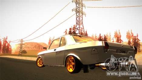 GAZ 24 für GTA San Andreas rechten Ansicht