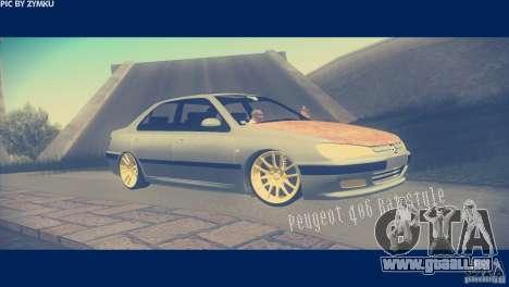 Peugeot 406 Rat Style für GTA San Andreas