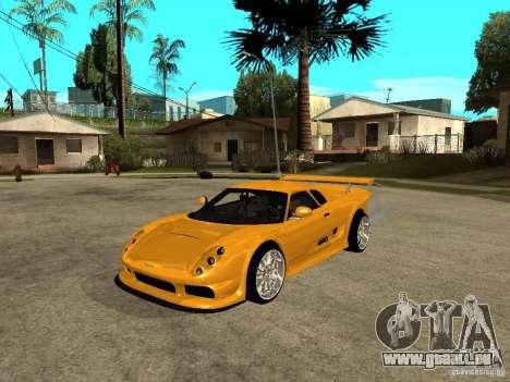 Noble M12 GTO Beta pour GTA San Andreas