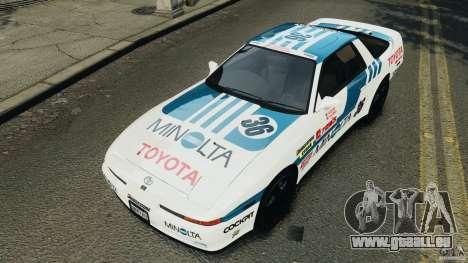 Toyota Supra 3.0 Turbo MK3 1992 v1.0 [EPM] für GTA 4 Räder