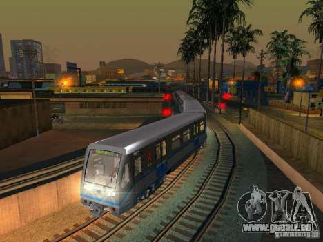 Nouveau Signal de Train pour GTA San Andreas cinquième écran