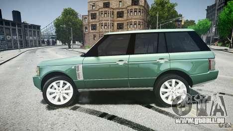 Range Rover Supercharged v1.0 für GTA 4 obere Ansicht