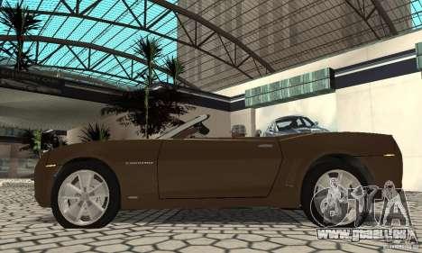 Chevrolet Camaro Concept 2007 für GTA San Andreas rechten Ansicht