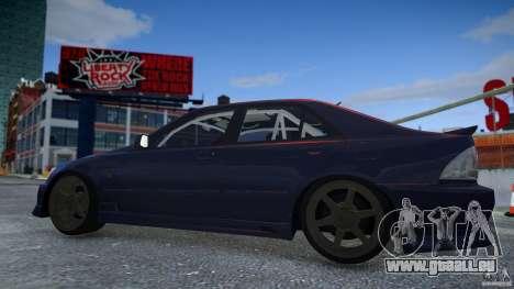 Toyota Altezza pour GTA 4 est une vue de l'intérieur
