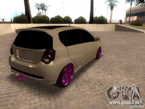 Chevrolet Aveo Tuning für GTA San Andreas linke Ansicht