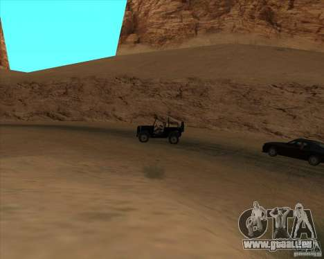 Duel de Cowboy pour GTA San Andreas deuxième écran