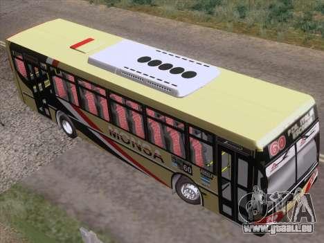 Metalpar Iguazu MT-15 pour GTA San Andreas vue arrière