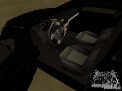 Chevrolet Vectra Elite 2.0 pour GTA San Andreas vue de côté