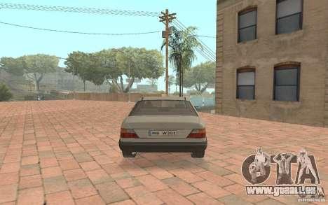 Mercedes-Benz E200 W124 für GTA San Andreas rechten Ansicht