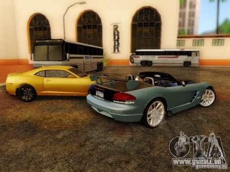 Dodge Viper SRT-10 Roadster ACR 2004 für GTA San Andreas Rückansicht