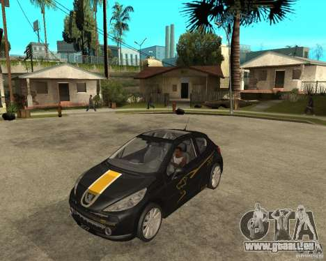 PEUGEOT 207 Griffe LANCARSPORT für GTA San Andreas