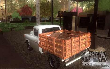 Walton HD für GTA San Andreas linke Ansicht