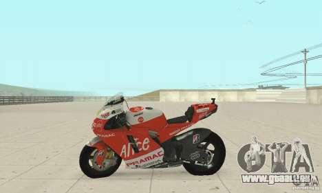 Ducati Alice GP pour GTA San Andreas vue de droite