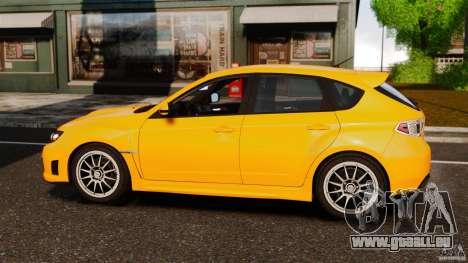 Subaru Impreza Cosworth STI CS400 2010 v1.2 pour GTA 4 est une gauche