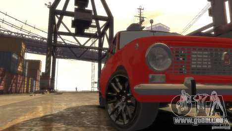 VAZ 2101 Licht Tun für GTA 4 Innenansicht