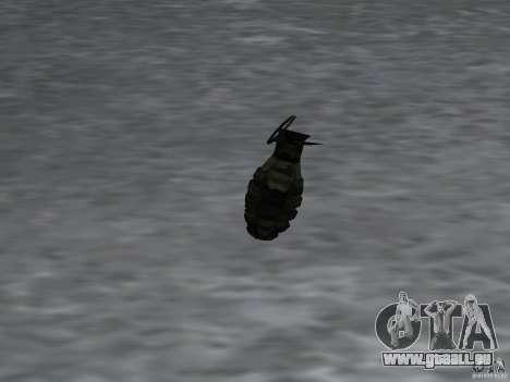 Pak inländischen Waffen Version 4 für GTA San Andreas neunten Screenshot