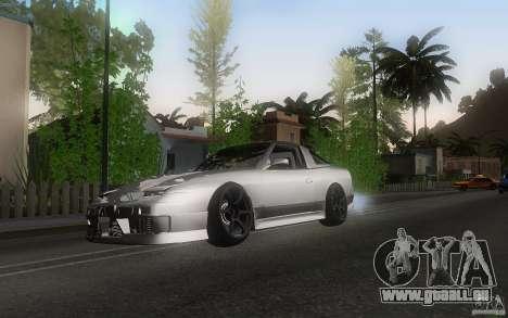Nissan 180sx v2 pour GTA San Andreas laissé vue