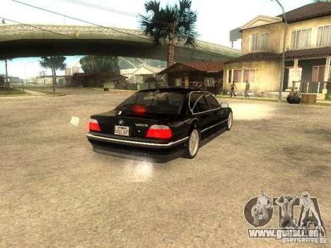 BMW 750iL für GTA San Andreas linke Ansicht