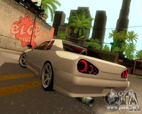 Elegy Drift Korch für GTA San Andreas obere Ansicht