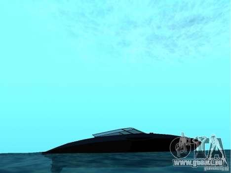 Squalo depuis Grand Theft Auto IV pour GTA San Andreas sur la vue arrière gauche