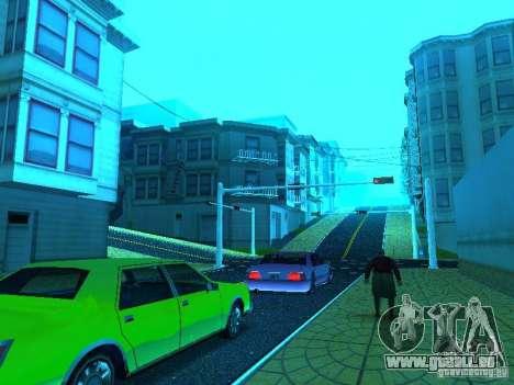 Neue Farbe-Mod für GTA San Andreas achten Screenshot