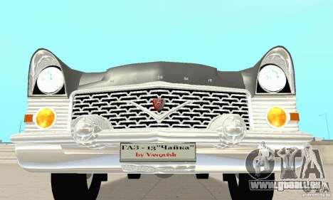 GAZ 13 Tschaika v2. 0 für GTA San Andreas obere Ansicht