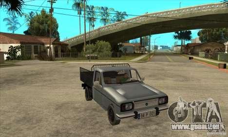 Anadol Pick-Up für GTA San Andreas Rückansicht
