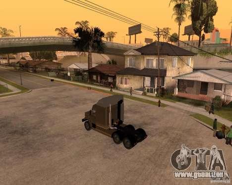 SuperZiL v. 2.0 pour GTA San Andreas laissé vue