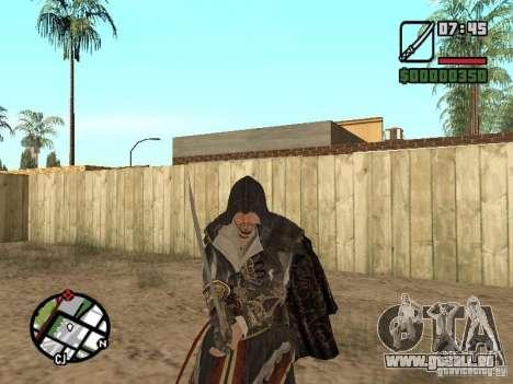 Schwert Ezio für GTA San Andreas fünften Screenshot