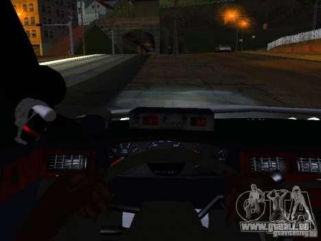 Chevrolet Impala NYPD für GTA San Andreas obere Ansicht