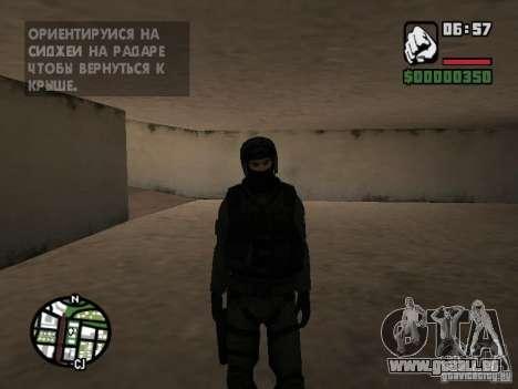 Umbrella soldier für GTA San Andreas