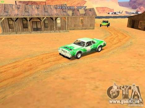 Jupiter Eagleray MK5 für GTA San Andreas Innen