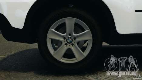 BMW X5 xDrive48i Security Plus pour GTA 4 vue de dessus