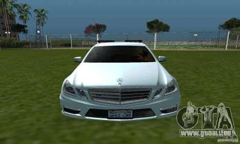 Mercedes-Benz E63 DPS für GTA San Andreas Innenansicht