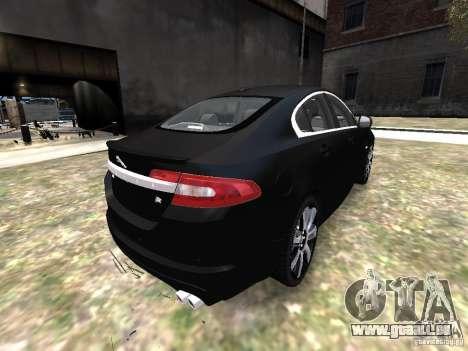 Jaguar XFR pour GTA 4 Vue arrière