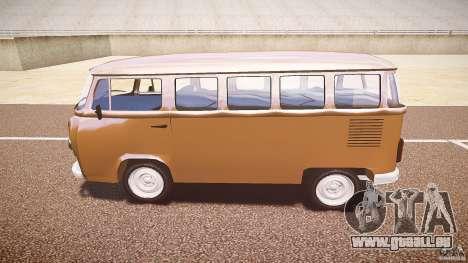 Volkswagen Kombi Bus für GTA 4 Rückansicht
